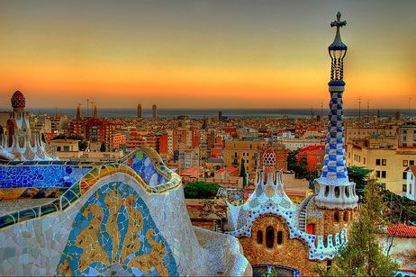 El Parque Guell Favorite Places Places Around The World Places To See