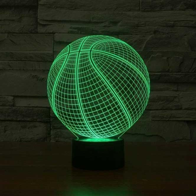 Basketball 3d Illusion Lamp 3d Led Lamp 3d Led Night Light 3d Illusion Lamp