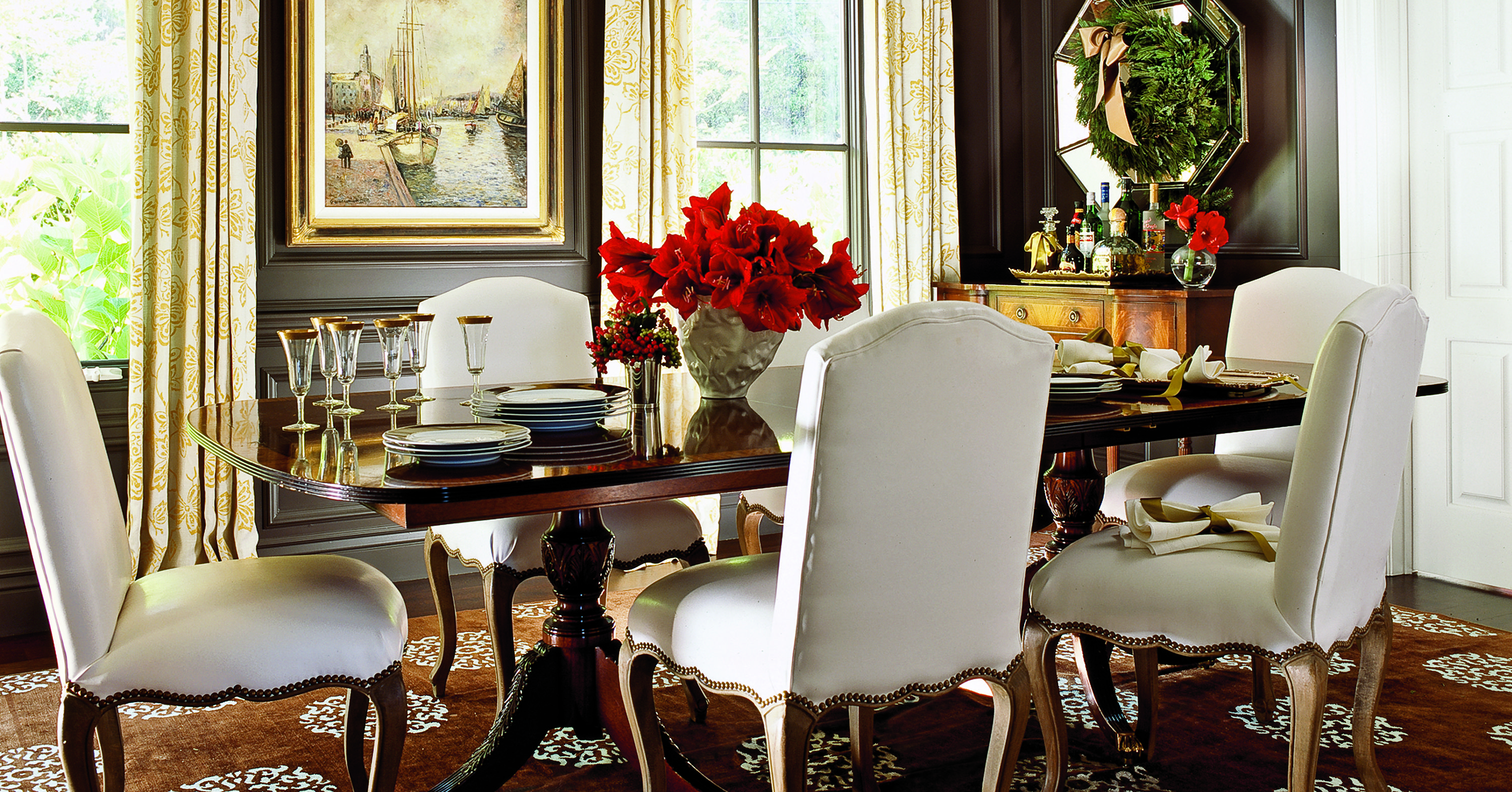 Best Colors for Dining Room Drama Paint Colors