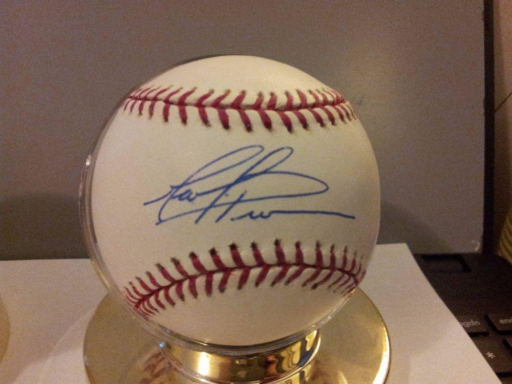 Mark Prior Autograph Official Major League Baseball Chicago Cubs Major League Baseball Chicago Cubs Cubs
