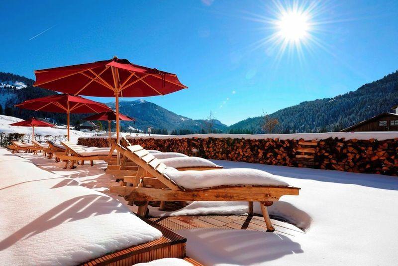 Glass Bottom Pool At Alpin Panorama Hotel Hubertus Italy Goroda