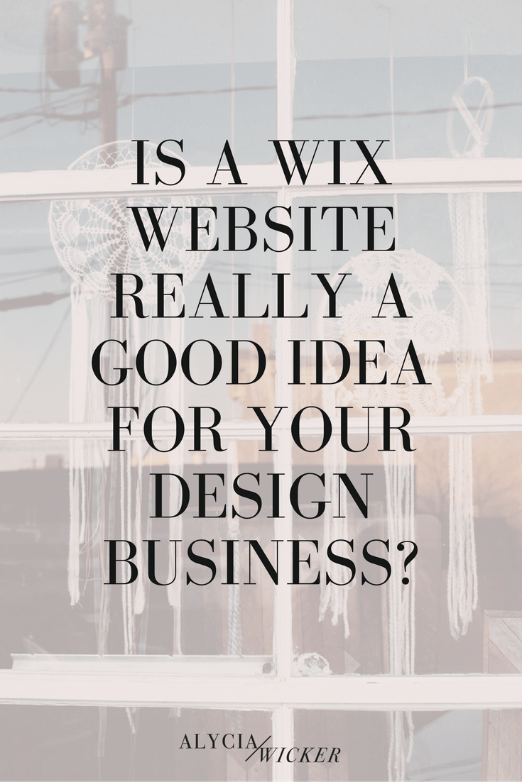 Is Wix A Good Option For Your Interior Design Website? | Interior ...
