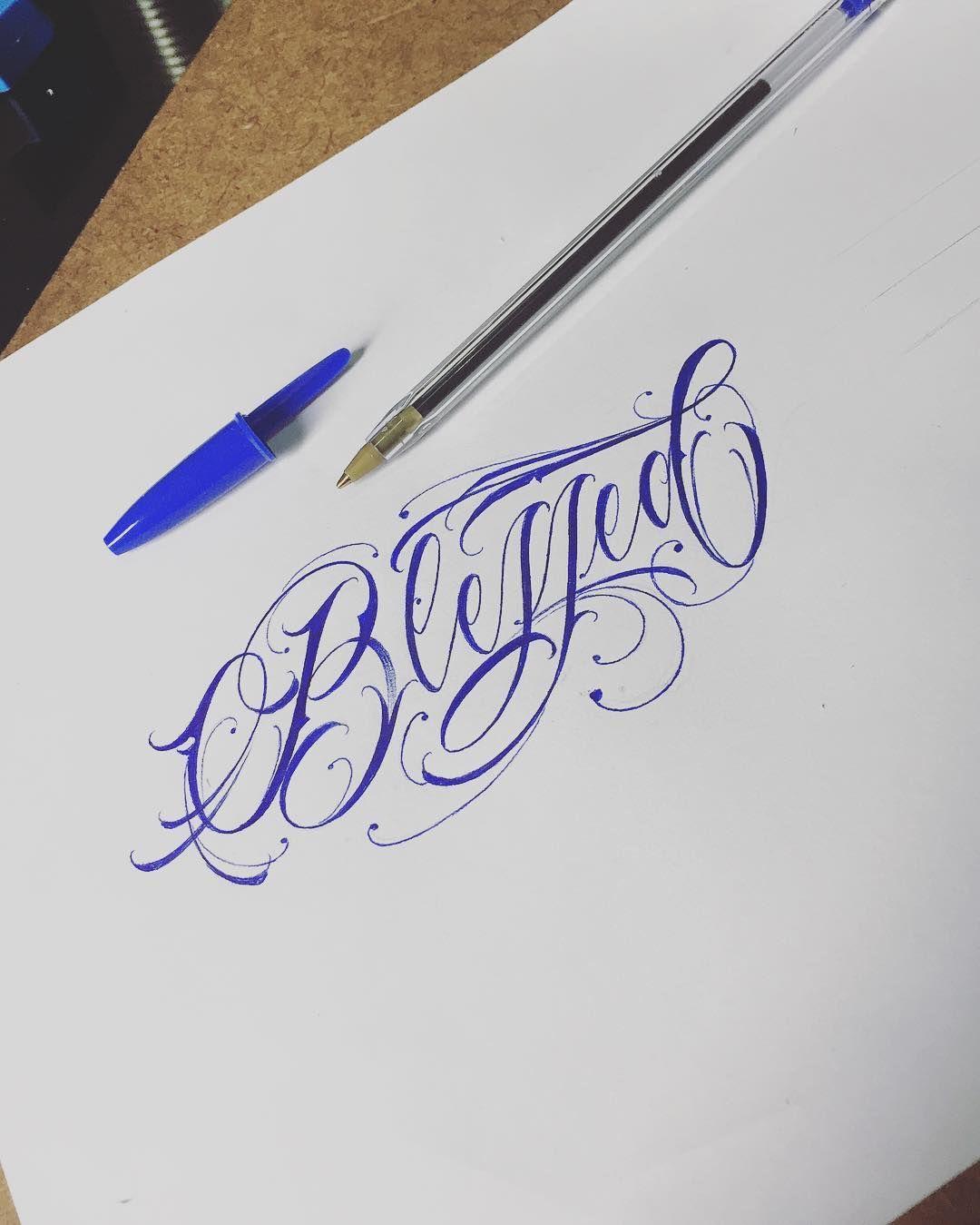 Andretattoo On Instagram Blessed Blessed Abencoados Bless Abencoado Semanaabencoad Com Imagens Tatuagem Blessed Decalque Tatuagem Letras Para Tatuagem