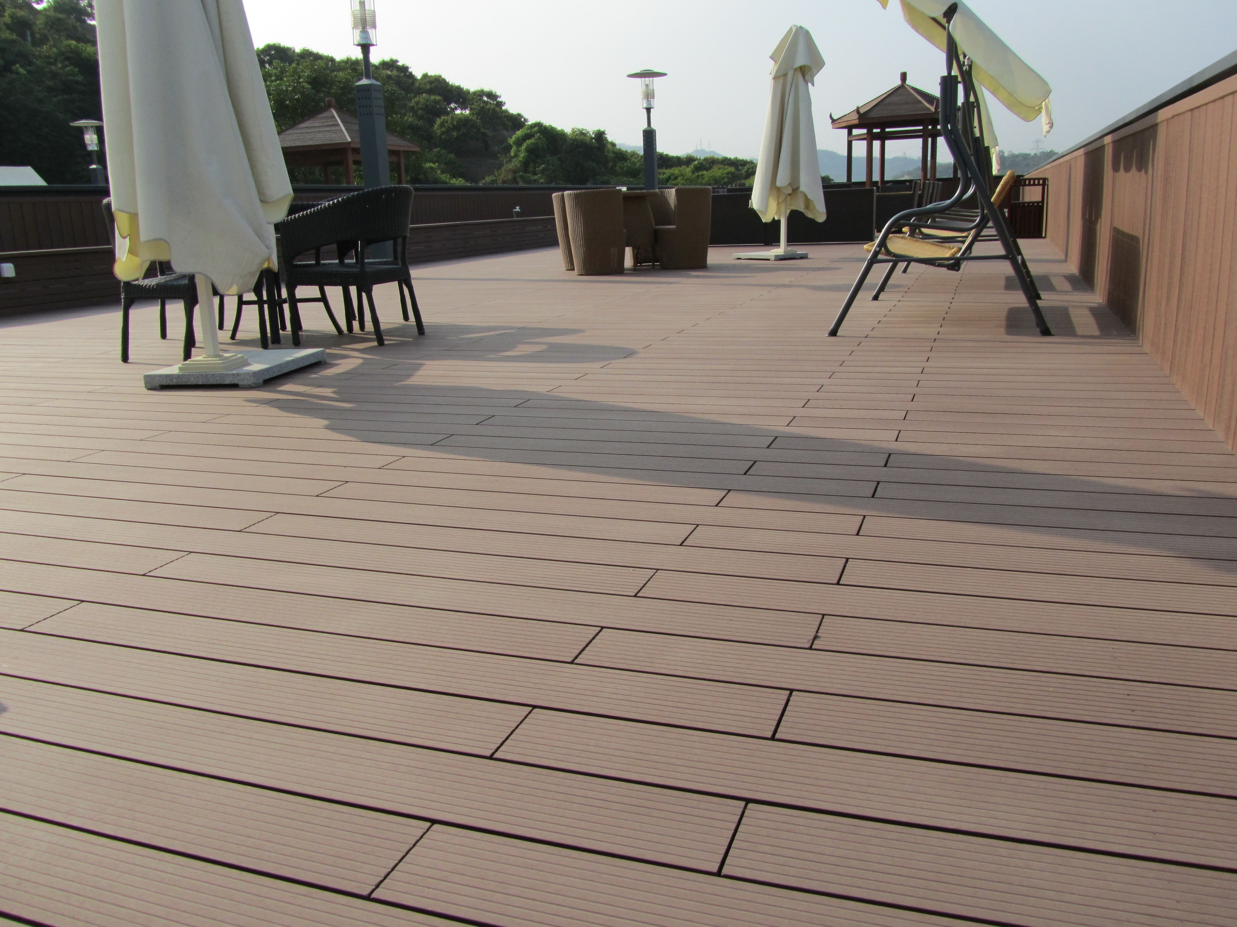 Pontoon Boat Decking Best Flooring Material For Balcony Or