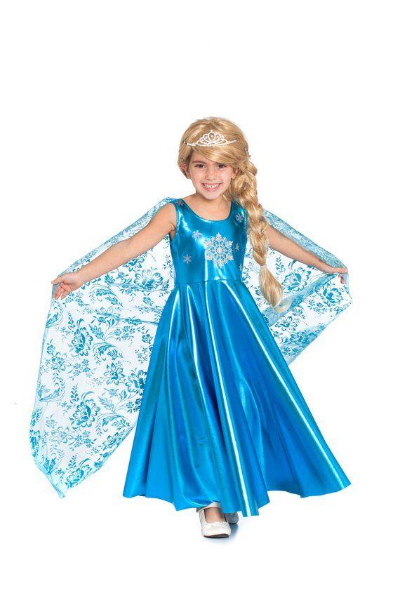 1e1a68a8750 Elsa Dress For Girls