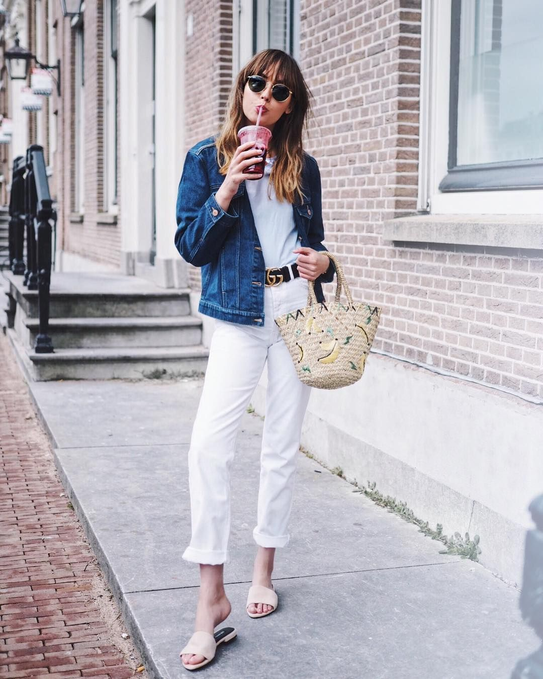 Americanvintage Todd Jeans Adashoffash American Vintage Outfit Inspirations Fashion