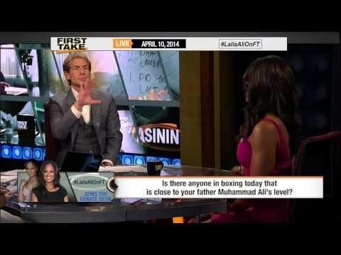 Laila Ali Dishes on Greatness of Muhammad Ali