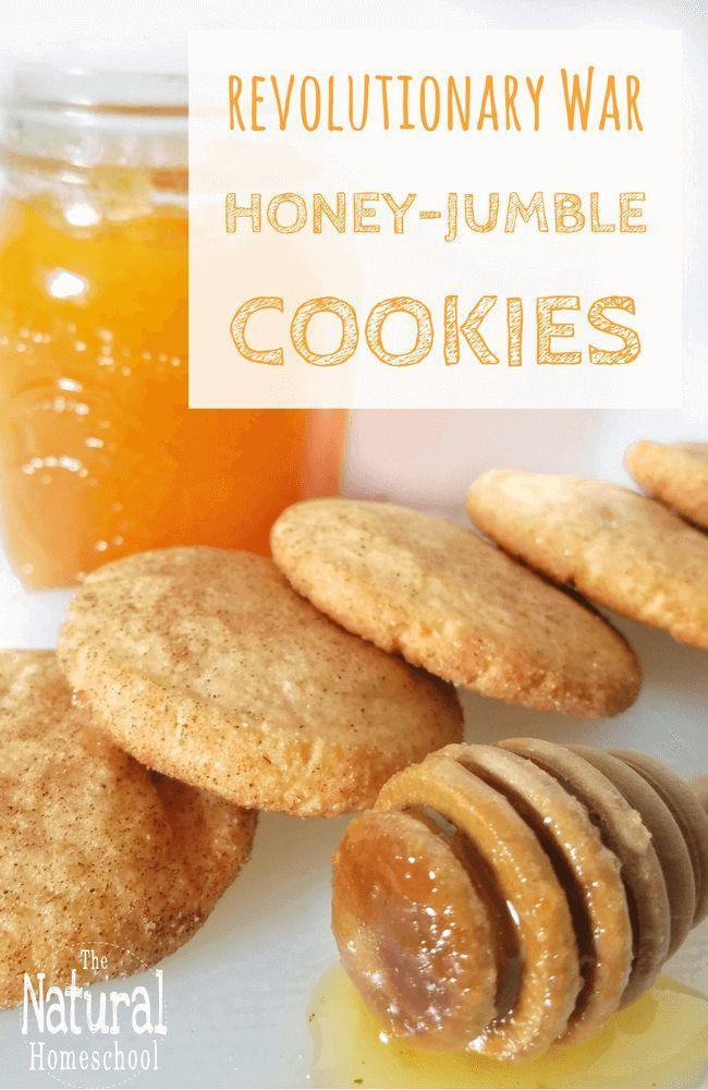 Recipes from revolutionary war for children honey jumble cookies recipes from revolutionary war for children honey jumble cookies forumfinder Choice Image