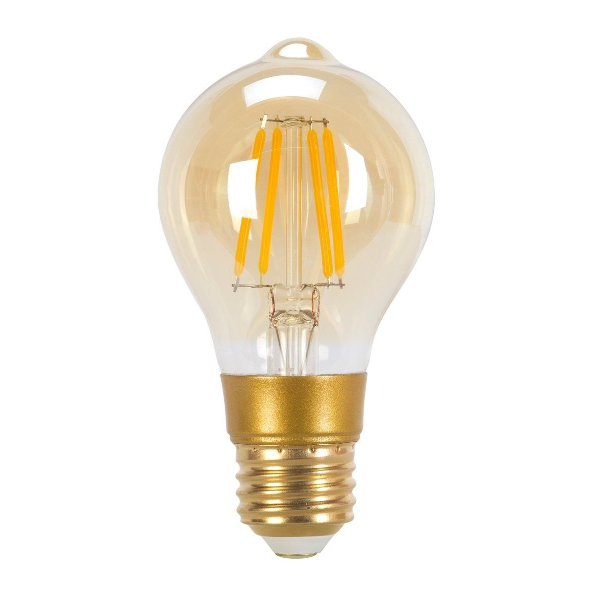 60w Equivalent Vintage Edison Dimmable Led Light Bulb E26 Clear