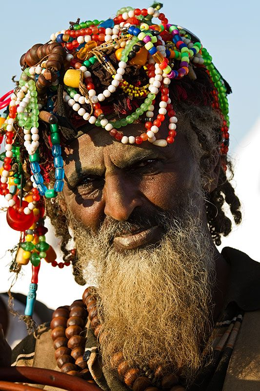 Africa | The protector of the Shrine of Sheikh Hussein.  Ethiopia | © Johan Gerrits