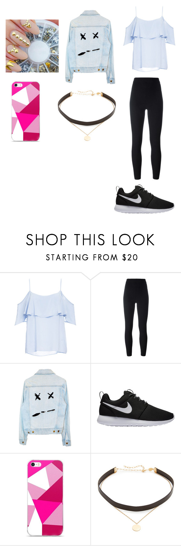 """Sem título #752"" by bruninhac ❤ liked on Polyvore featuring BB Dakota, Yeezy by Kanye West, NIKE and Jennifer Zeuner"