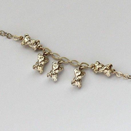 Srebrna Bransoletka Z Misiami Pandora Charm Bracelet Jewelry Pandora Charms