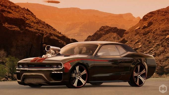 Cool Dodge Challenger Wallpaper Black Custom Engine Wallpapers Carro Carros Carros Tunados