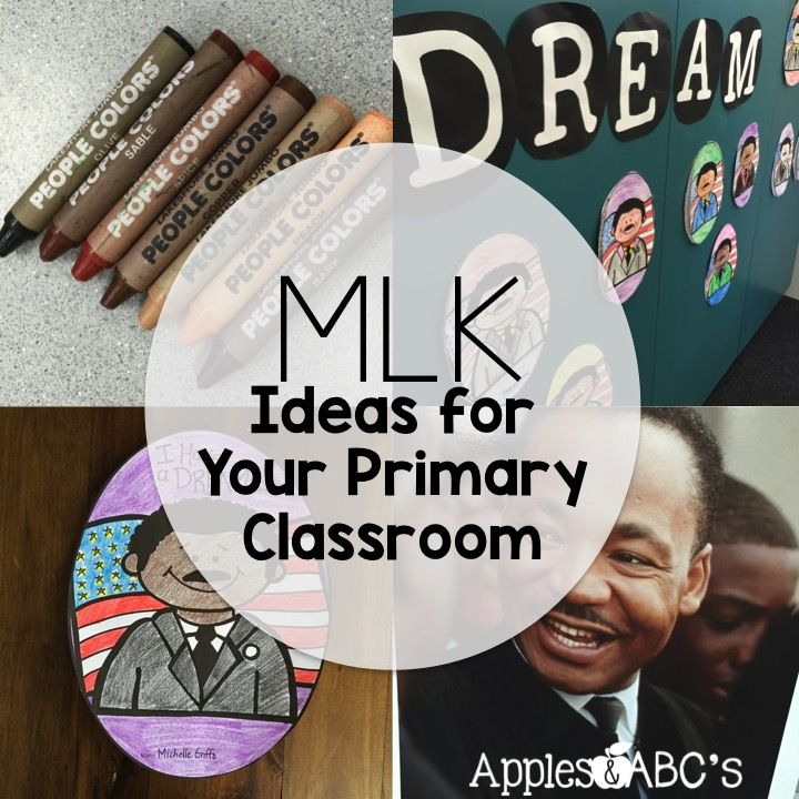 MLK Primary Ideas Apples and ABC's