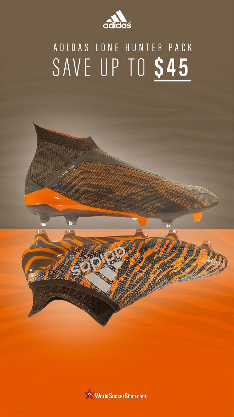 931c859c72da adidas Lone Hunter Pack Collection now on sale at WorldSoccerShop ...