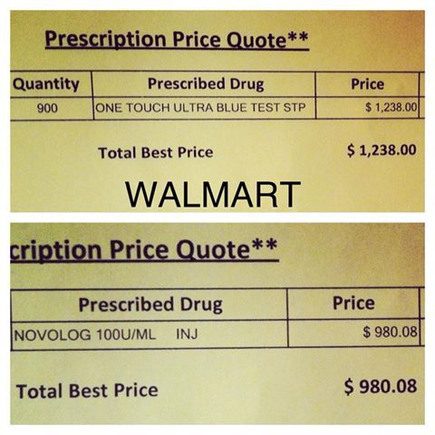 Insurance Price Quote Mesmerizing Cost Quote Of A 3 Month Diabetes Supply Without Insurance.cha