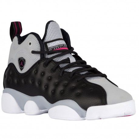 Jordan Jumpman Team II - Girls' Grade SchoolA throwback Jordan Team shoe  based on the AJ originally built for the court.Full-grain leather and  textile for ...