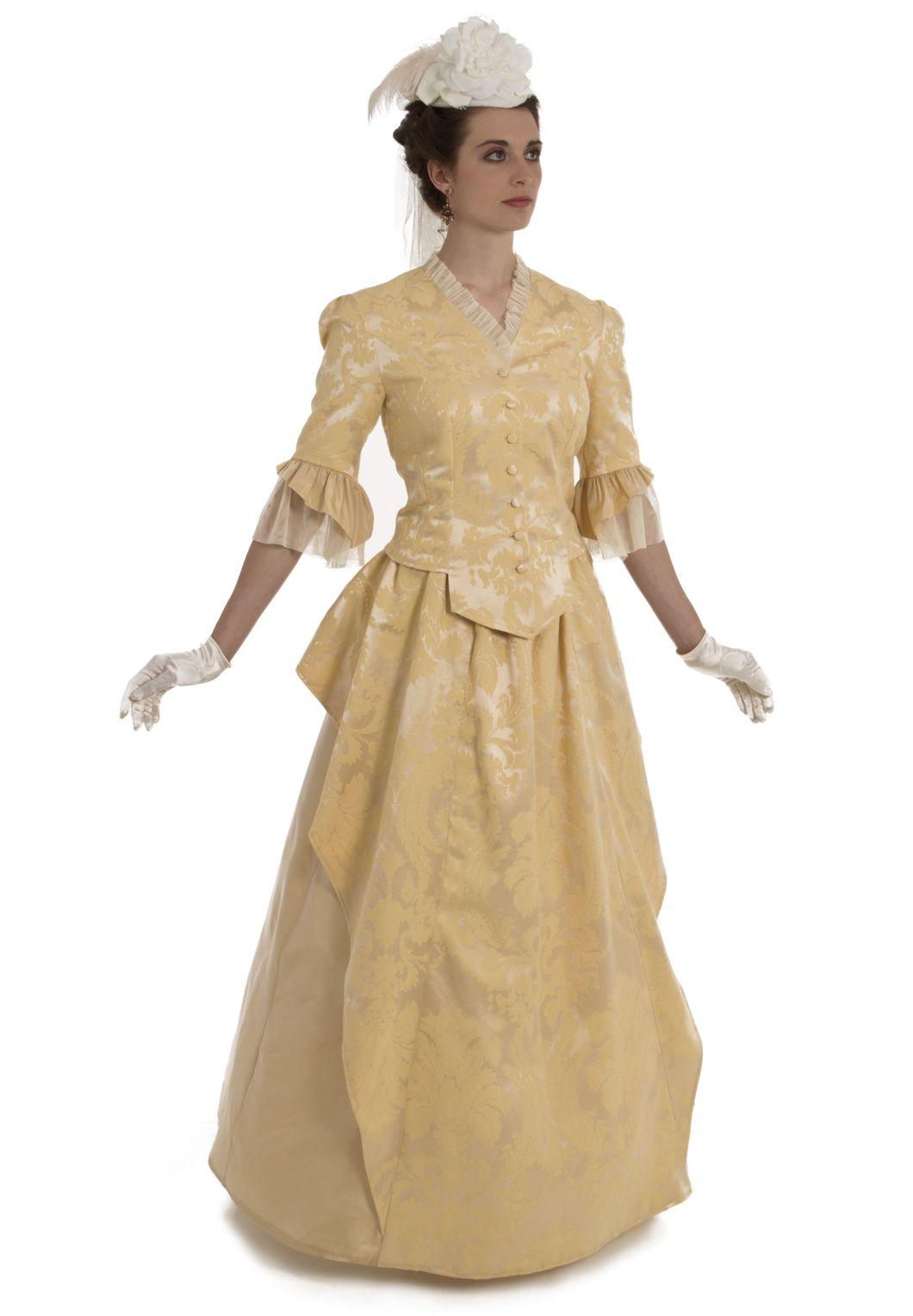 Novella Ensemble Old Fashion Dresses Edwardian Clothing Costumes For Women [ 1528 x 1060 Pixel ]