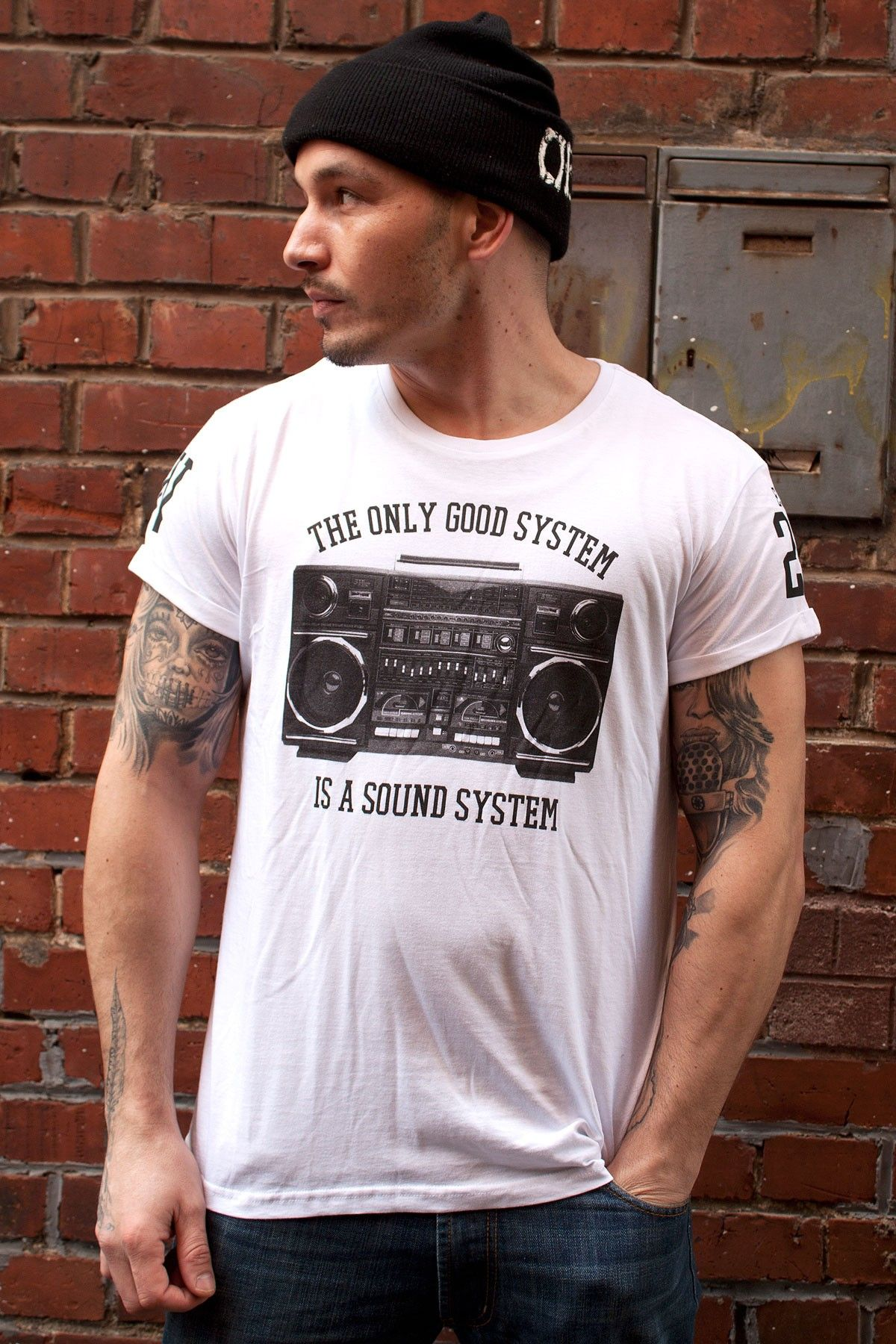 Artistik World Sound System T-Shirt White