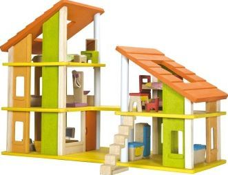 Plan Toys Furnished chalet dollshouse `One size Details : 1 bathroom, 1 kitchen, 1 lounge, 1 master bedroom, 1 childrens bedroom, Openable roof, Spiral staircase, construction necessary, Eco-friendly Age : From 3 years old Fabrics : Recycled rubber http://www.comparestoreprices.co.uk/january-2017-7/plan-toys-furnished-chalet-dollshouse-one-size.asp