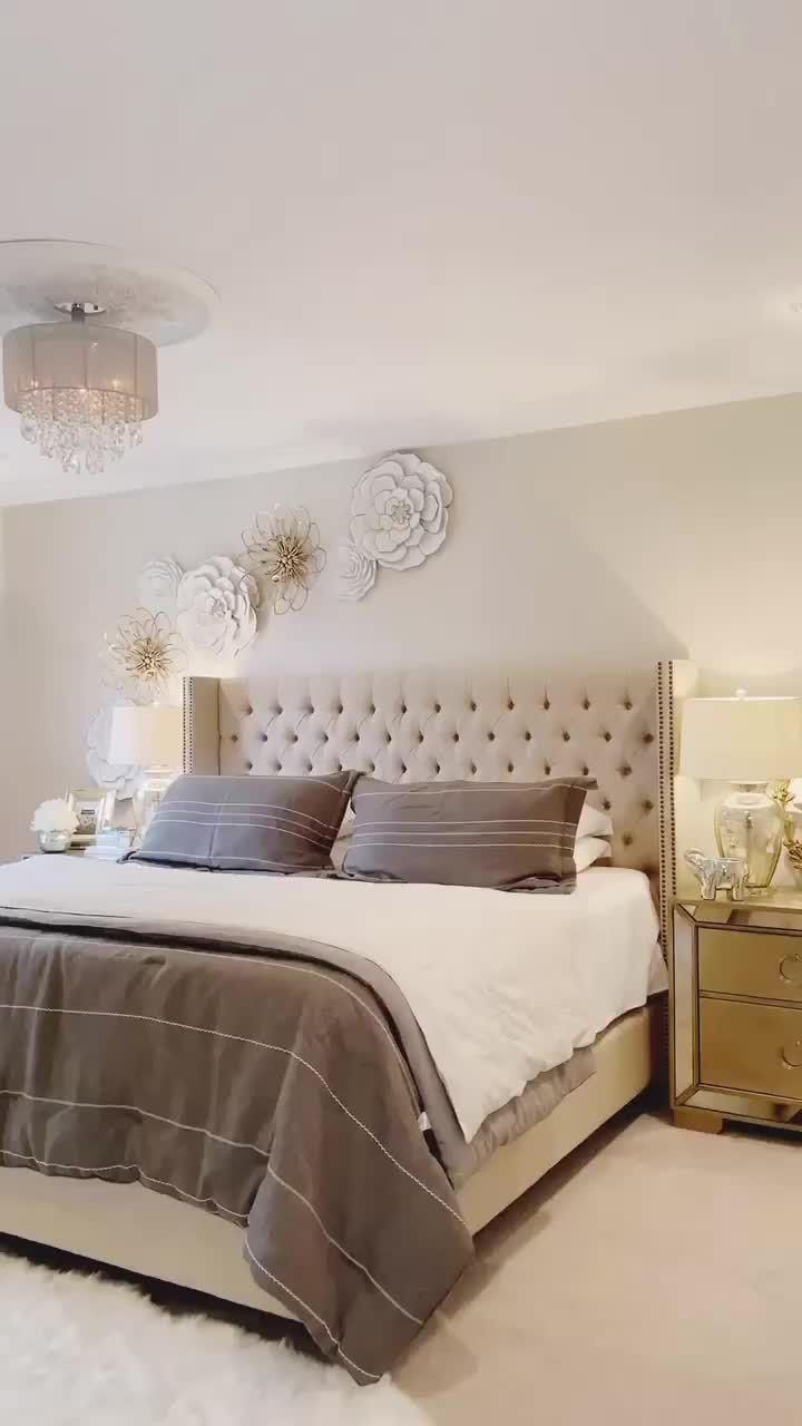 Greigebedding Beddingneutrals Bedroom Interior Bedroom Decor Master For Couples Bedroom Decor Master bedroom ideas 2020