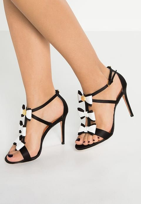 972cecef64c Ted Baker APPOLINI - Korolliset sandaalit - black white - Zalando.fi ...