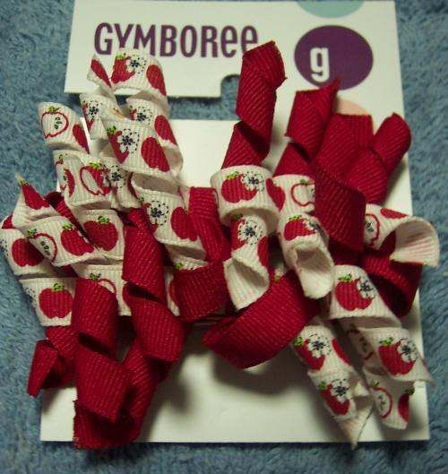 NWT-pick-Gymboree-2004-CANDY-APPLE-hair-accessories-sunglasses-barrettes-clips