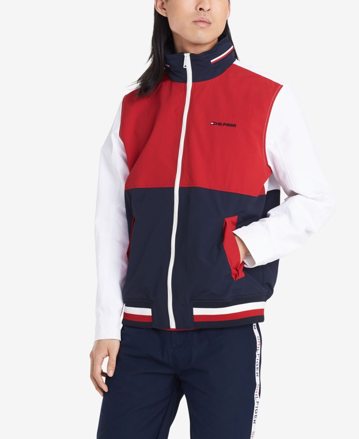Pin By Kirlipundel On Tommy Hilfiger Tommy Hilfiger Man Tommy Hilfiger Outerwear Jackets [ 1466 x 1200 Pixel ]
