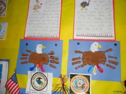 Veterans Day Art Projects #veteransdayartprojects Veterans Day, Memorial Day #Veterans Day Handprint Art #veteransdaydecorations