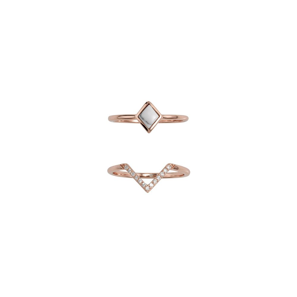 Midnight Hummingbird Ring Set Rose Gold Hummingbird Rose and Ring