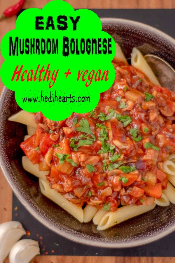 recipe: mushroom bolognese cooking light [17]