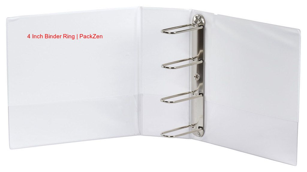 Wrap Up Your Large Sized Documents In A Proper Size Binder Such As Packzen S 4inch Binder Ring Ideally Designed To Store The L Custom Vinyl Binder Custom