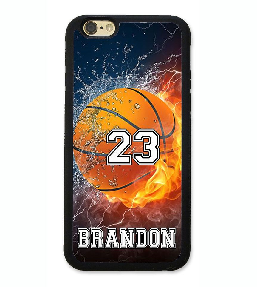 Details about personalized number name basketball phone