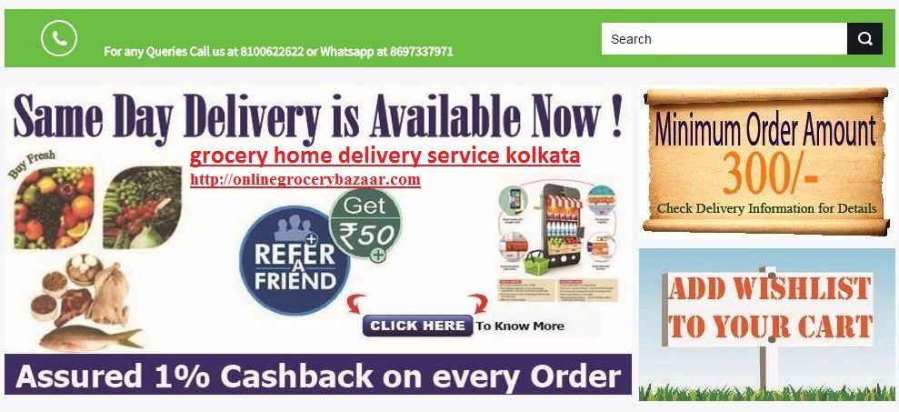 Online Grocery Store In Kolkata For Purchasing Daily Need Items