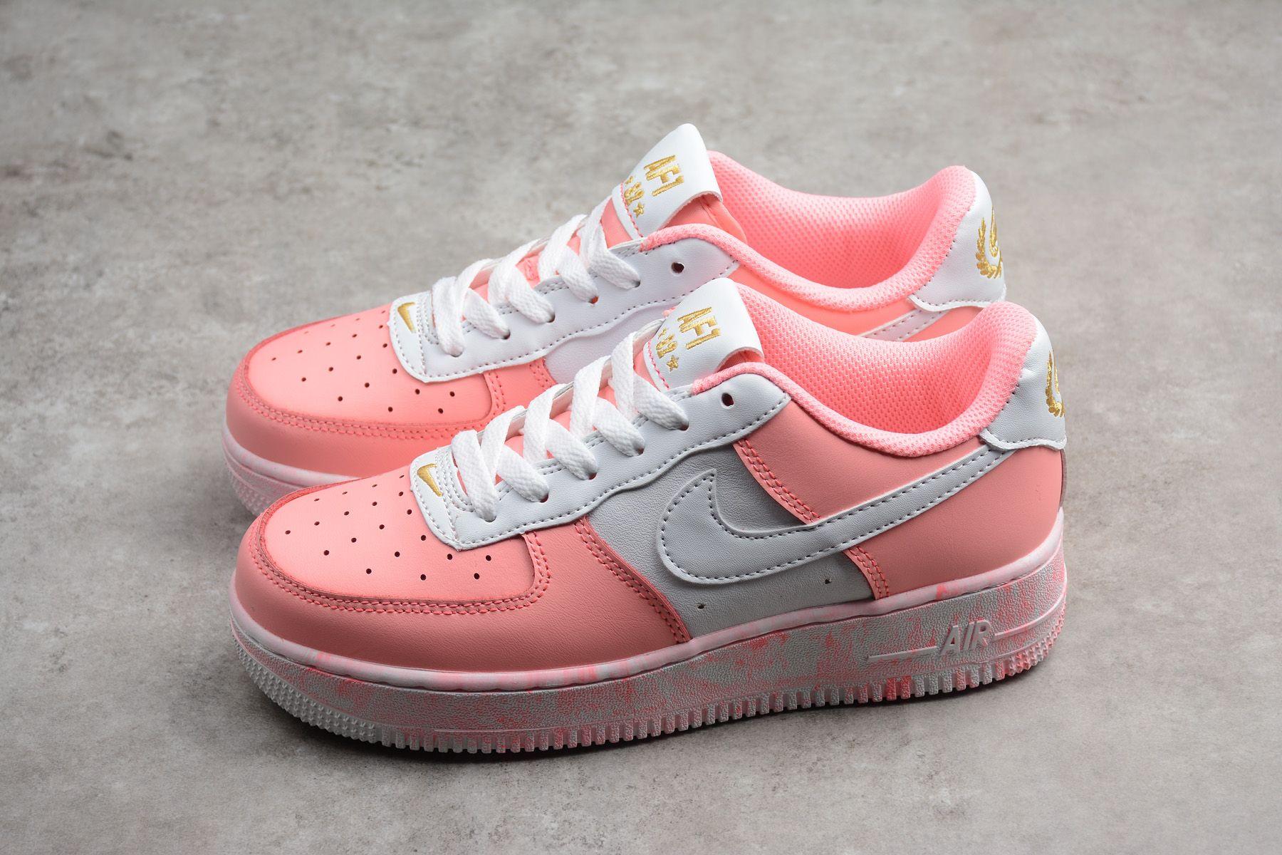 Nike Air 1 für Force WhiteSchuhe 65 Sneaker Upstep Pink SqUGzVLMp