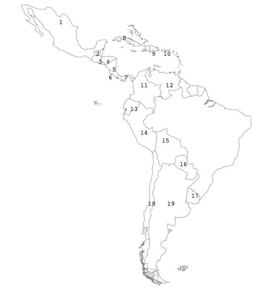 Map Quiz America