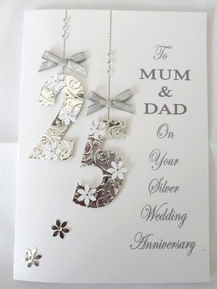 25th Wedding Anniversary Gifts For Parents Wedding Gifts Wedding
