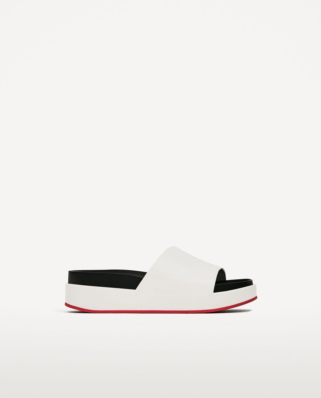 d88ef45b6731 PLATFORM SLIDES-Flat sandals-SHOES-WOMAN