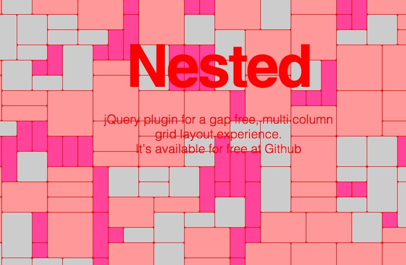 Nested / jQuery plugin for a gap free, multi-column grid layout