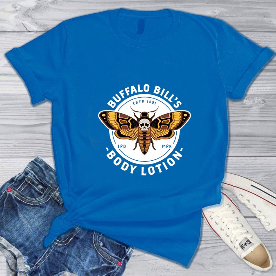 Buffalo Bills Body Lotion 1991 Silence Of The Lambs T Shirt T Shirt Costumes Buffalo Bills Body Lotion