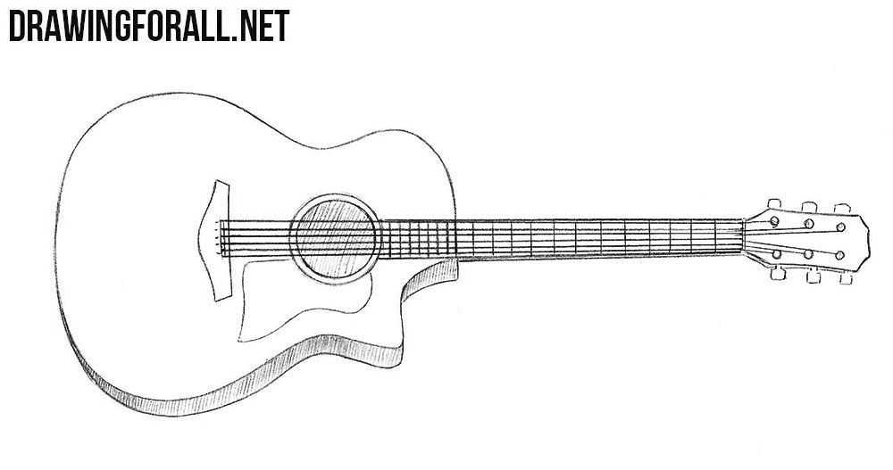 How To Draw A Guitar Patterns In 2018 Pinterest Guitar Guitar