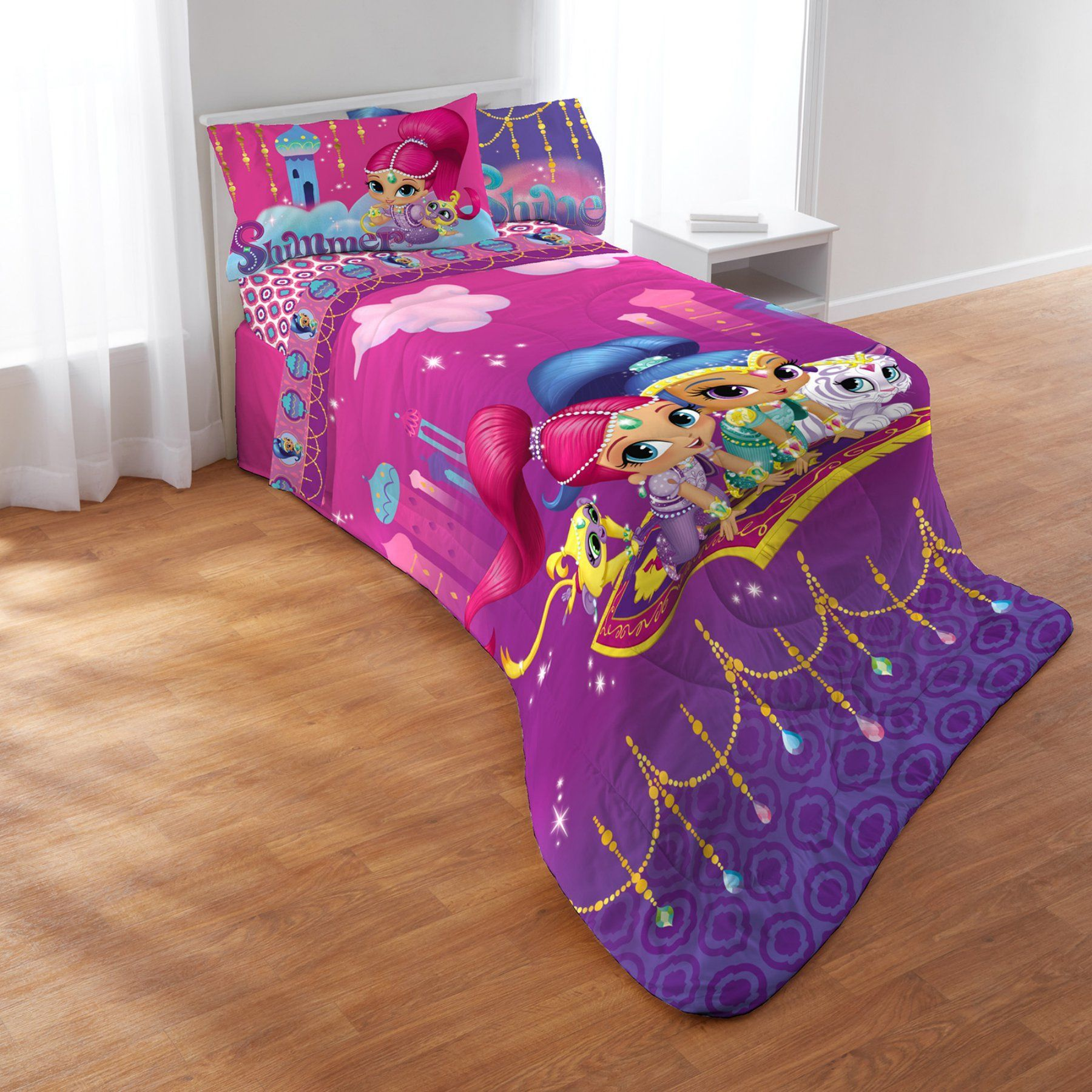 Shimmer And Shine Magic Wonders Comforter Set By Nick Jr