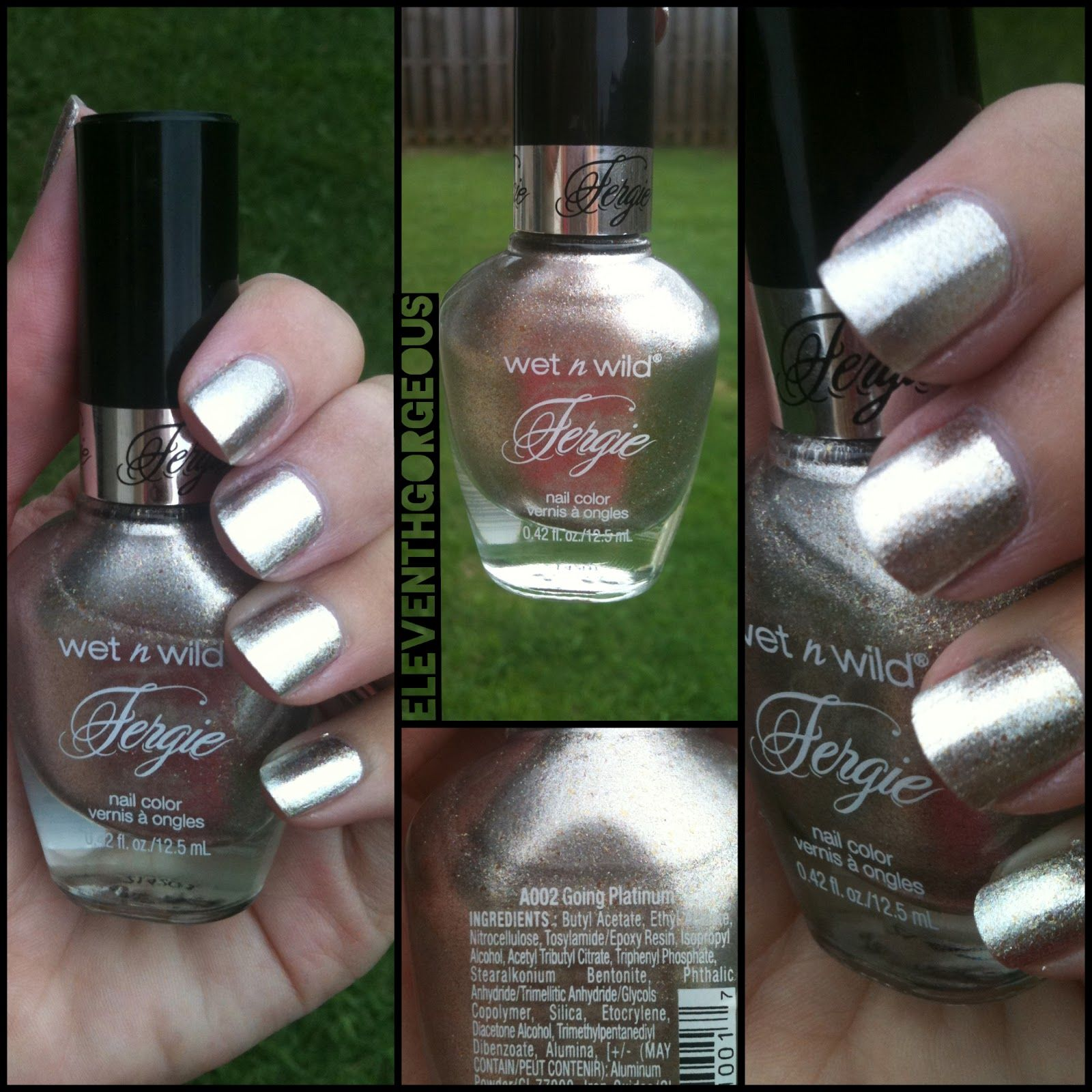 Going Platinum from the Wet n Wild Fergie Collection | nails ...