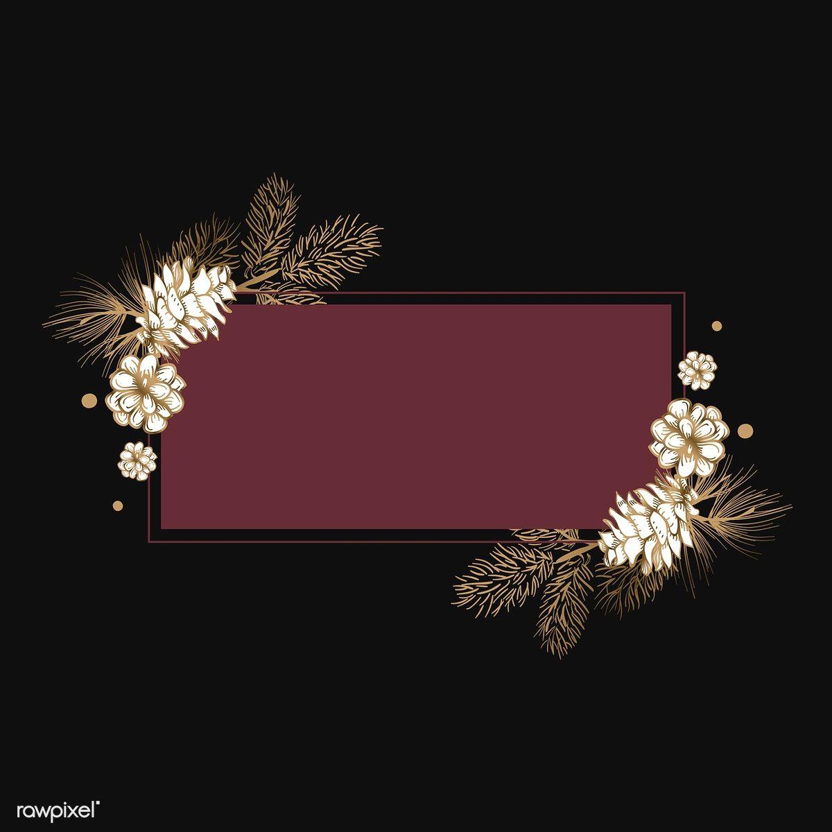Download free vector of Floral framed wedding invitation vector by Sicha about Burgundy floral background, flower border, mockup, burgundy wedding  background, and wedding invite mockup 553609