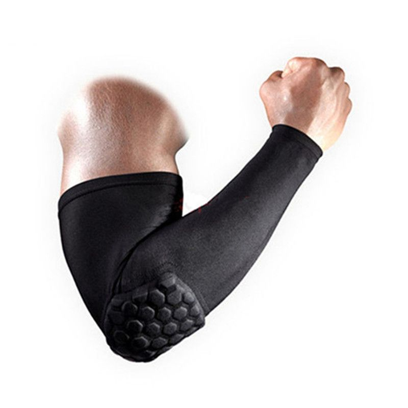Sports Elbow Protection Pads Anti-collision Arm Sleeve Support Basketball