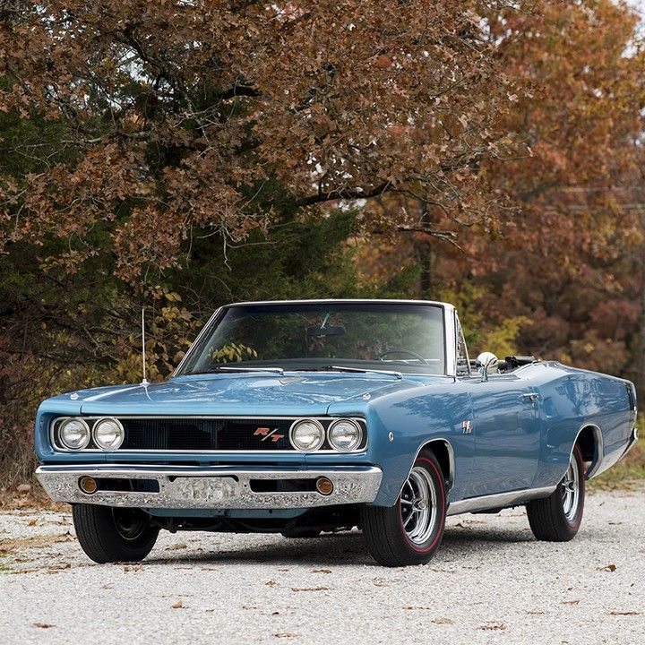 """Mecum Auctions On Instagram: """"Drop Top #Dodge ... 1968"""