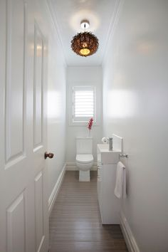 Small Cloakroom Toilet Storage
