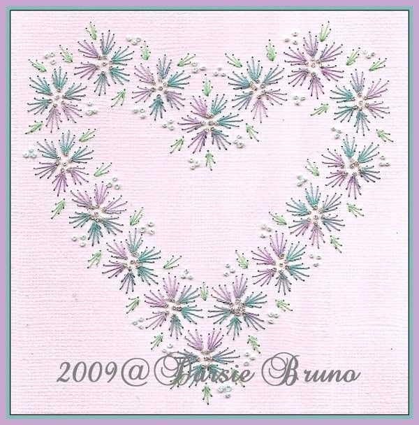 embroidery on paper free patterns - Google Search: | IDEAS PARA ...