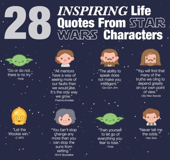 28 wise life quotes from star wars you didn t realize were