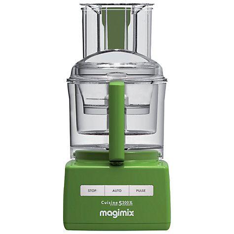 Magimix 5200XL Premium BlenderMix Food Processor. White   Food processor recipes. Food. Cuisine